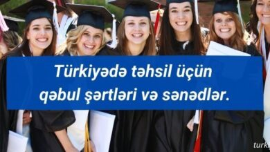 Photo of Türkiyədə təhsil üçün qəbul şərtləri və sənədlər.