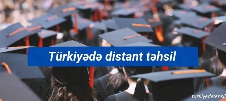 Turkiyede distant tehsil