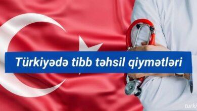 Photo of Turkiyede tibb tehsil qiymetleri